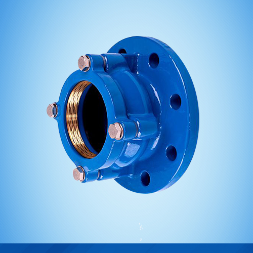 Flange adaptor for HDPE
