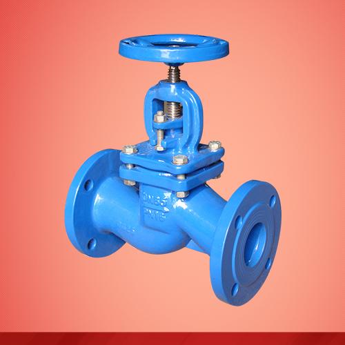 Flange end globe valve