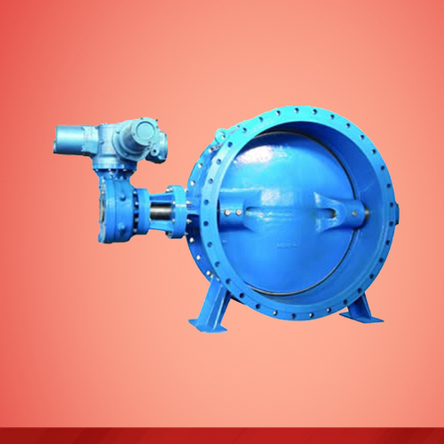Flanged type motorized driven butterfly valve (D943X)