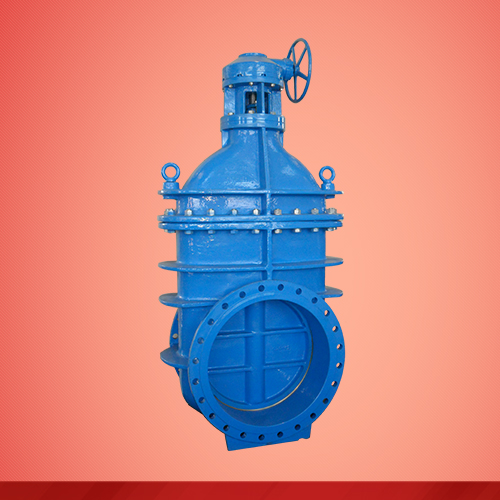 Non rising stem gear box gate valve (Z545T)