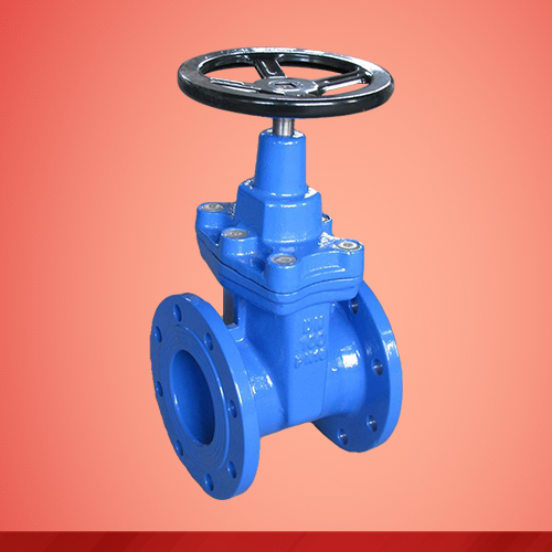 Resilient seat non-rising stem gate valve (Z45X)