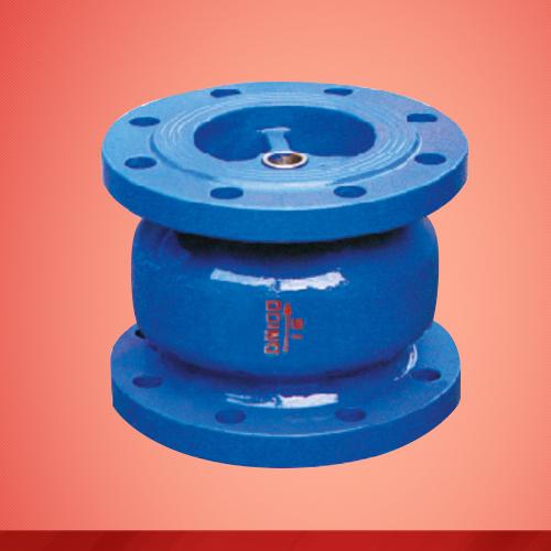 Saving energy eradicating noisy check valve (H41X)