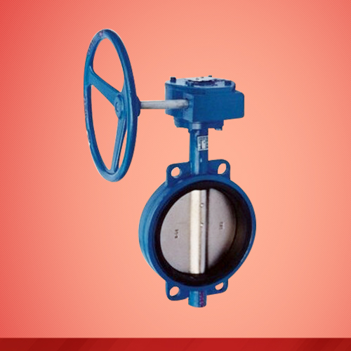 Wafer type butterfly valve (D371X)