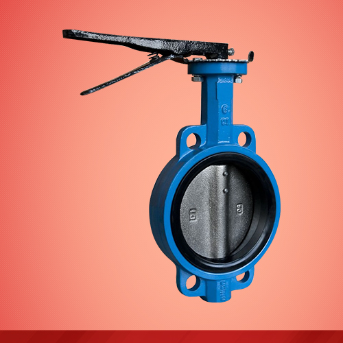 Wafer type butterfly valve (D71X)