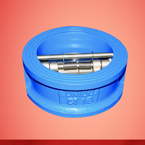 Wafer type double disc swing check valve (H76X)