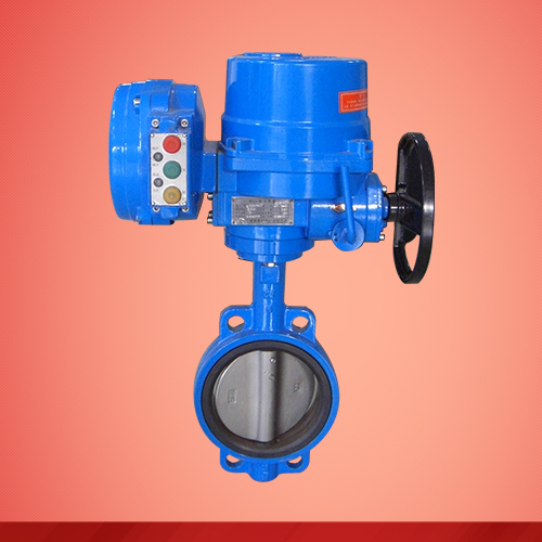 Wafer type electric-driven butterfly valve (D971X)